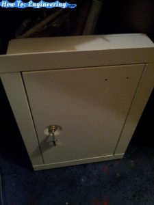 The in wall safe we used ()amazon http://amzn.to/1YK2ijw