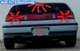 How I fixed brake lights stuck on on a CRX.