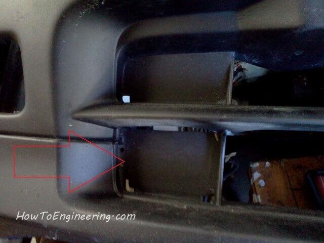 Integra bumper plastic cover