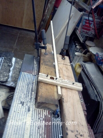 a jig for routing the picture frame