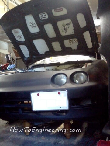 Acura Integra front end mods