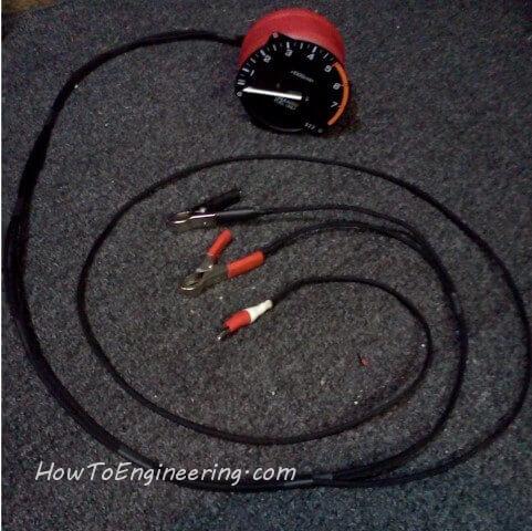 DIY Mechanics RPM gauge