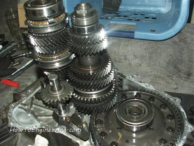 B series transmission open