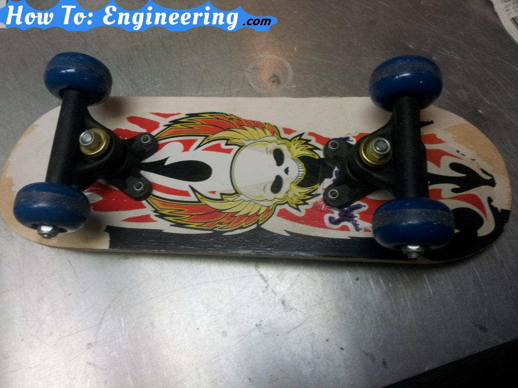 The old toy skateboard I started with