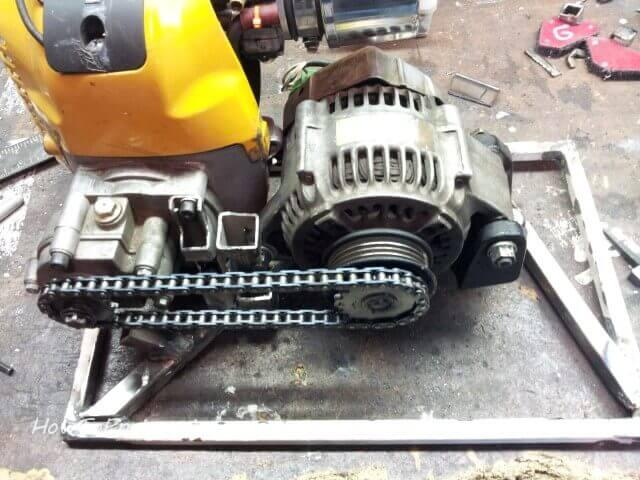 DIY Inverter generator