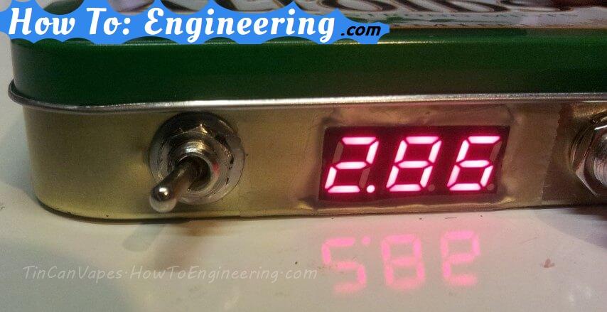 DIY MOD LED power indicator