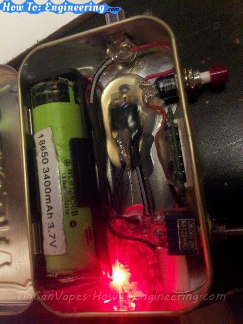 DIY regulated MOD red light charging