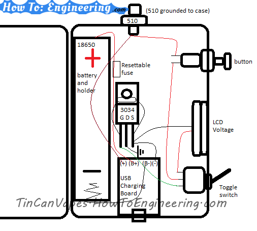 DIY regulated MOD schematic