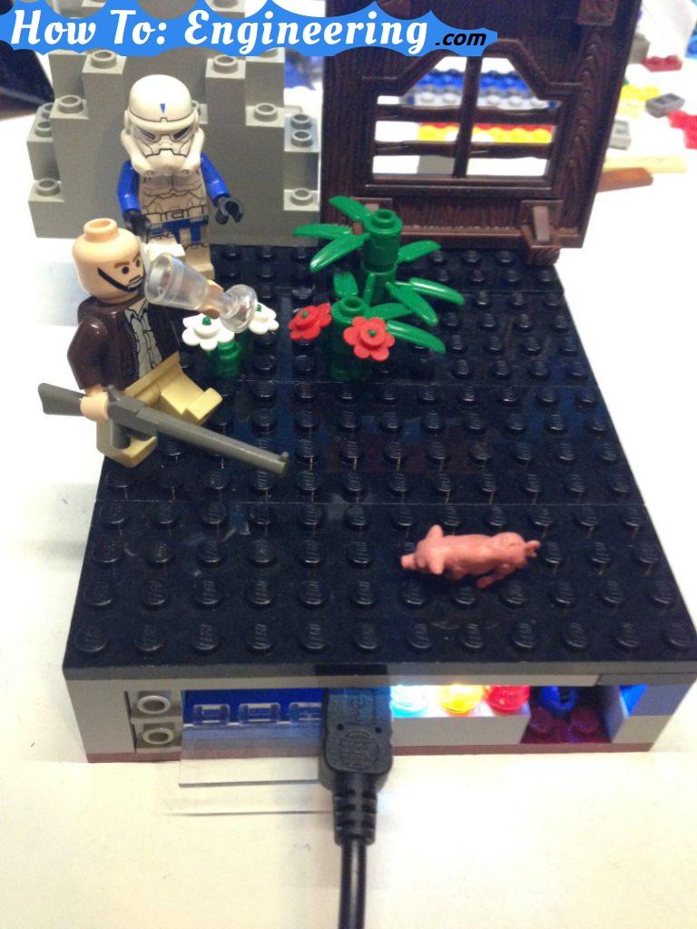 DIY lego power bank