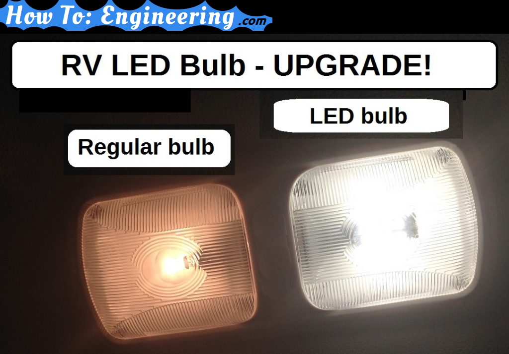 RV LED bulb upgrade