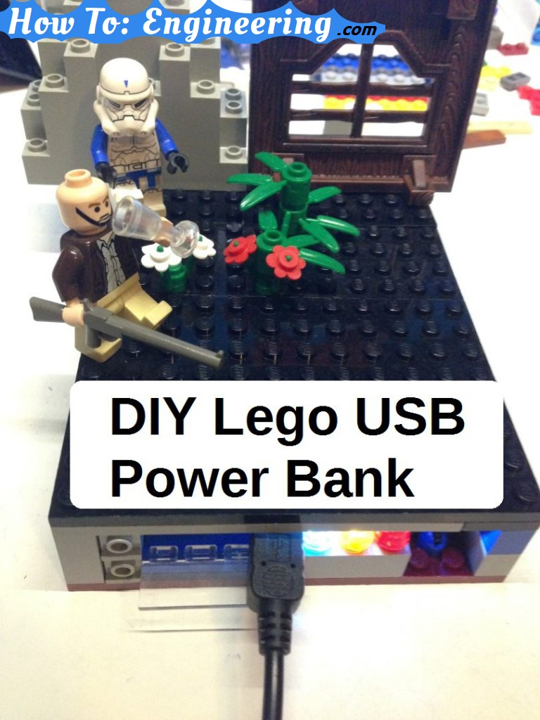 DIY Lego usb power bank