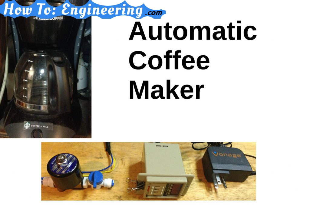 Automatic coffee maker hack