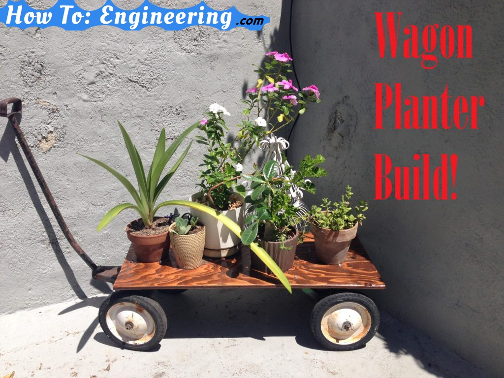 Wagon Planter build