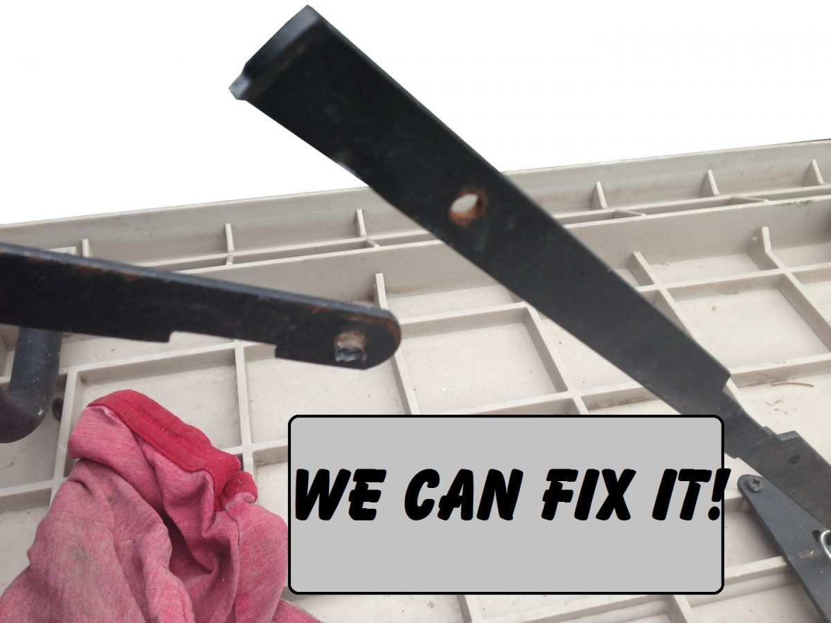 Repair a Folding Table with Rivets