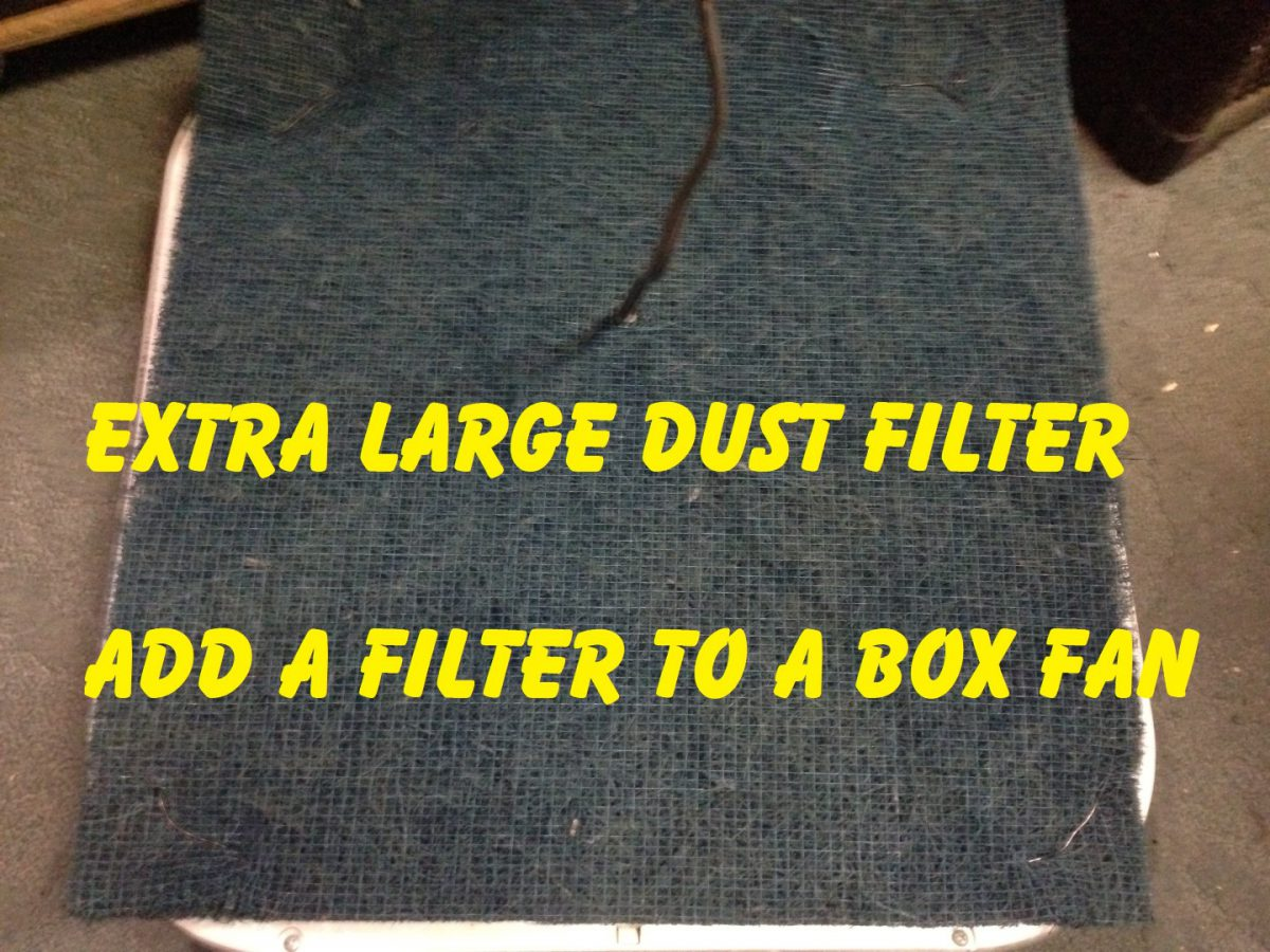 Fan Dust Filter – Allergy Relief