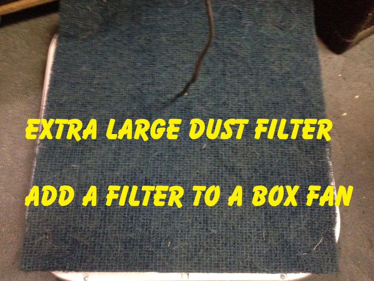 Fan Dust Filter – Allergy Relief