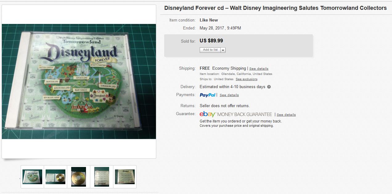disney forever cd